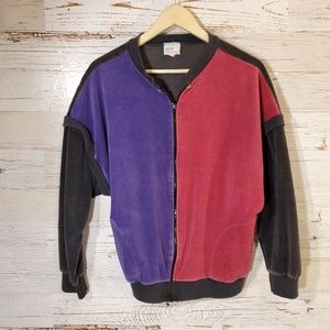 Avon full zip vintage sweatshirt